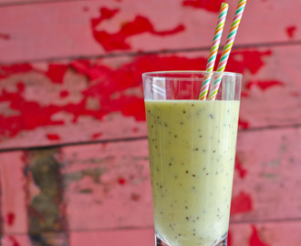 Smoothie de kiwi e banana
