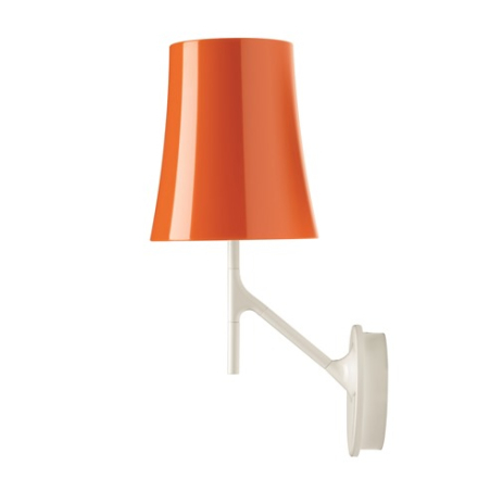 Foscarini Birdie Vägglampa Orange