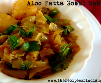 Aloo Patta Gobhi ki Sabzi | How to Make Potato Cabbage Sabzi