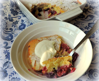 Mixed Berry Pudding