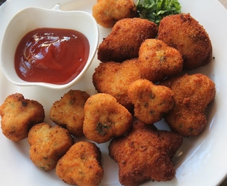 Chicken Nuggets Recipe - Shaped Chicken Nuggets for Toddlers & Kids