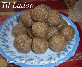 Til Ladoo -- Chimmili -- How to make Til Ladoo Recipe