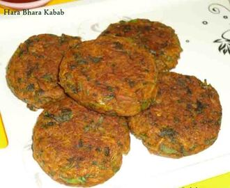 hara bhara kabab recipe - how to make hara bhara kabab