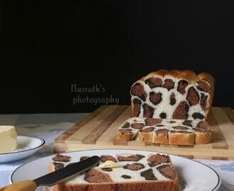 Leopard bread |How to make leopard bread from scratch
