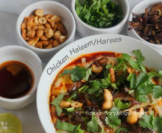 Hyderabadi Chicken Haleem/Harees