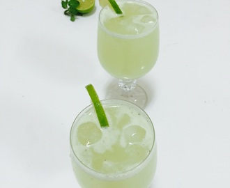 MINT LEMONADE/MINTED LEMON JUICE