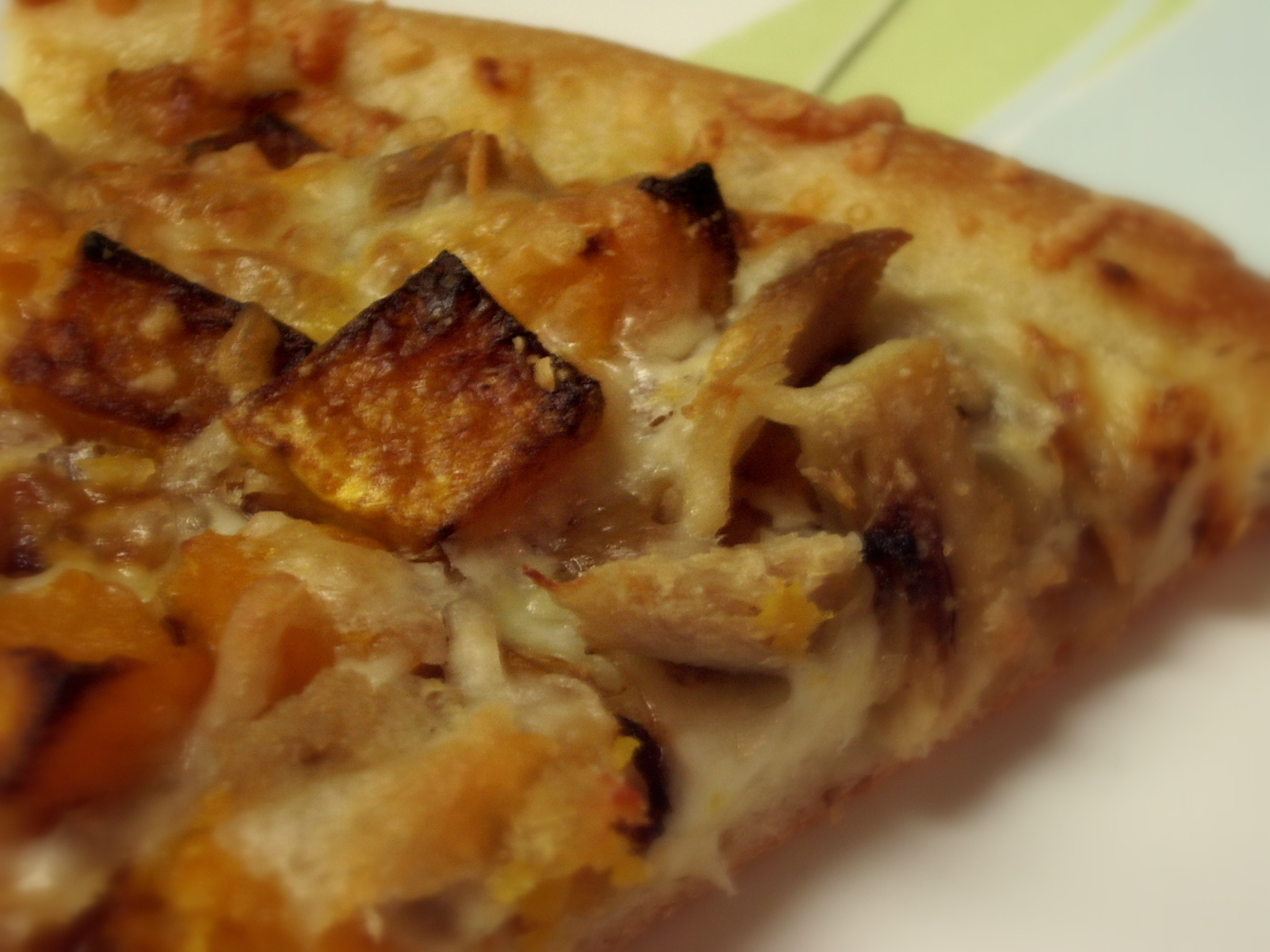 Butternut Squash Pizza with Chicken and Caramelized Onions