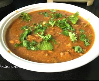 PULI KULAMBU/ TAMARIND CURRY