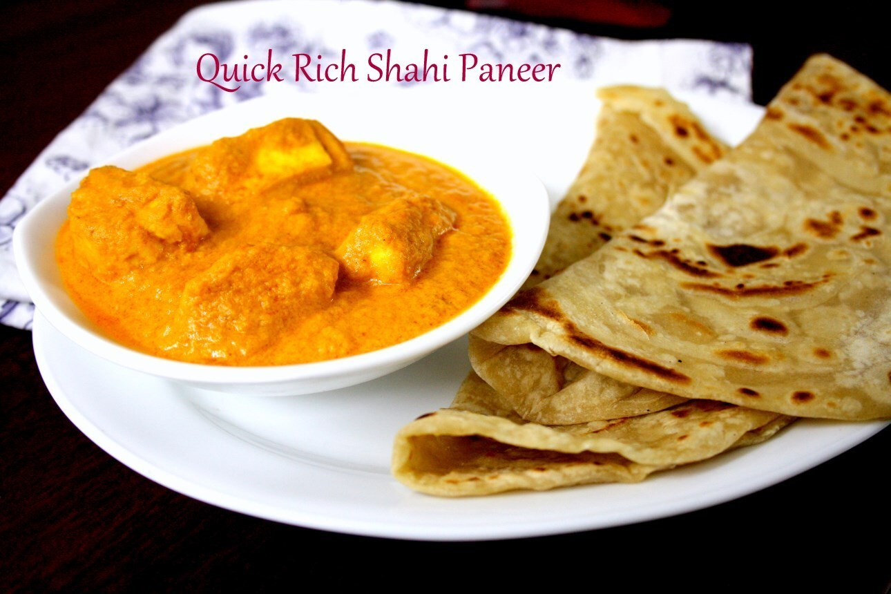 Quick Shahi Paneer Recipe | Instant Rich Gravy with Indian Cottage Cheese
