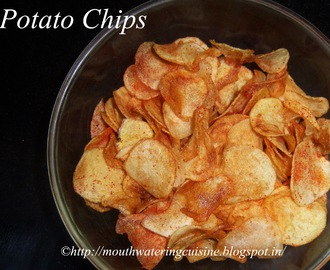 Instant Potato Chips -- How to make Instant Potato Chips at Home