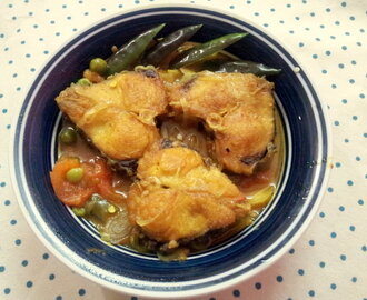 Healthy Fish Gravy In Pressure Cooker/Macher Bati Chochchori