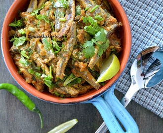 Nethili Fish Curry With Coconut | Anchovies Curry, Nethallu Iguru
