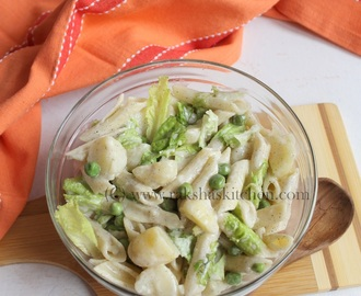 Cold Pasta Salad With Potatoes