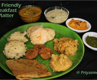 Pumpkin & Carrot Idly/ Diet Friendly Breakfast Platter / Diet Friendly Recipe - 99 / #100dietrecipes