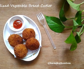 Mixed Vegetable Bread Cutlet | Evening Snacks Recipe