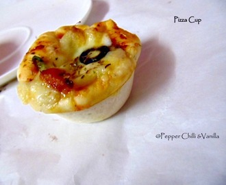 Pizza Cups Recipe/Cheesy Pizza Cups Recipe