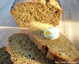 Molasses Banana Loaf
