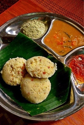 MILLETS , OATS , RAVA IDLIS WITH METHI SPROUTS