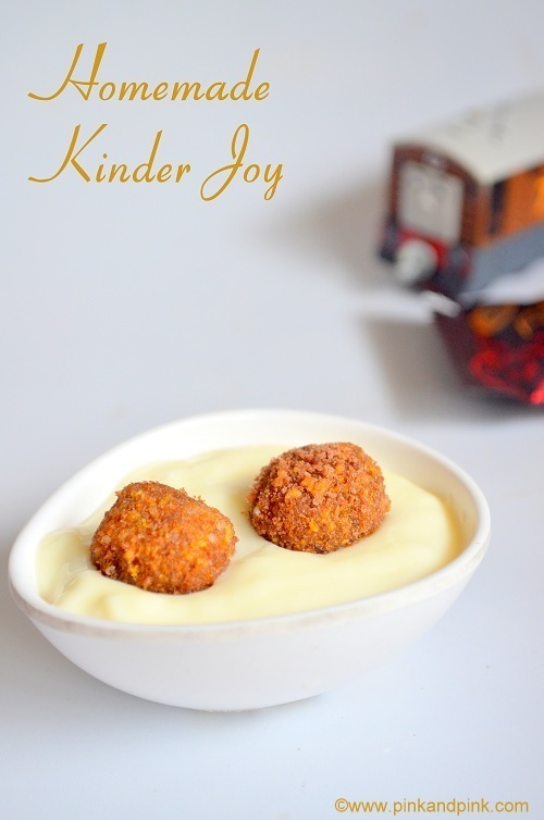 Homemade Kinder Joy Recipe