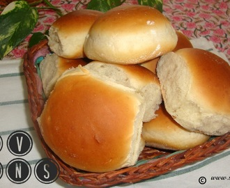 Pav Buns Recipe / Pav Bread Recipe / Eggless Pav Bun Recipe / Ladi Pav Bread Buns Recipe