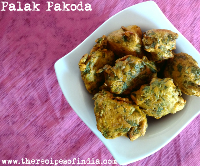 Palak Pakoda Recipe | How to Make Spinach Fritters