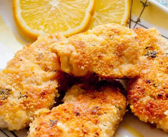 Côtelettes de poulet au parmesan weight watchers