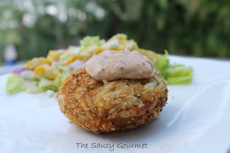 Crab Cakes with Homemade Remoulade Sauce