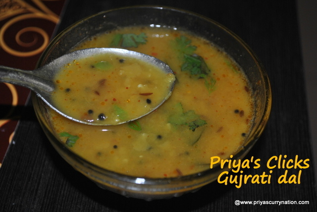 Gujarati Dal reicpe, How to make gujrati toor dal