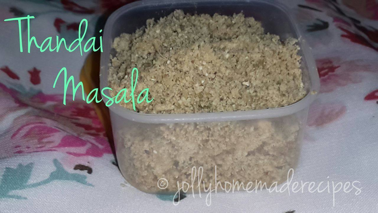 Thandai Masala Powder Recipe, How to make Homemade Thandai Masala Powder