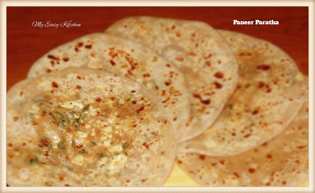 Paneer Paratha Recipe - How to make paneer paratha / Punjabi Paneer Paratha Recipe