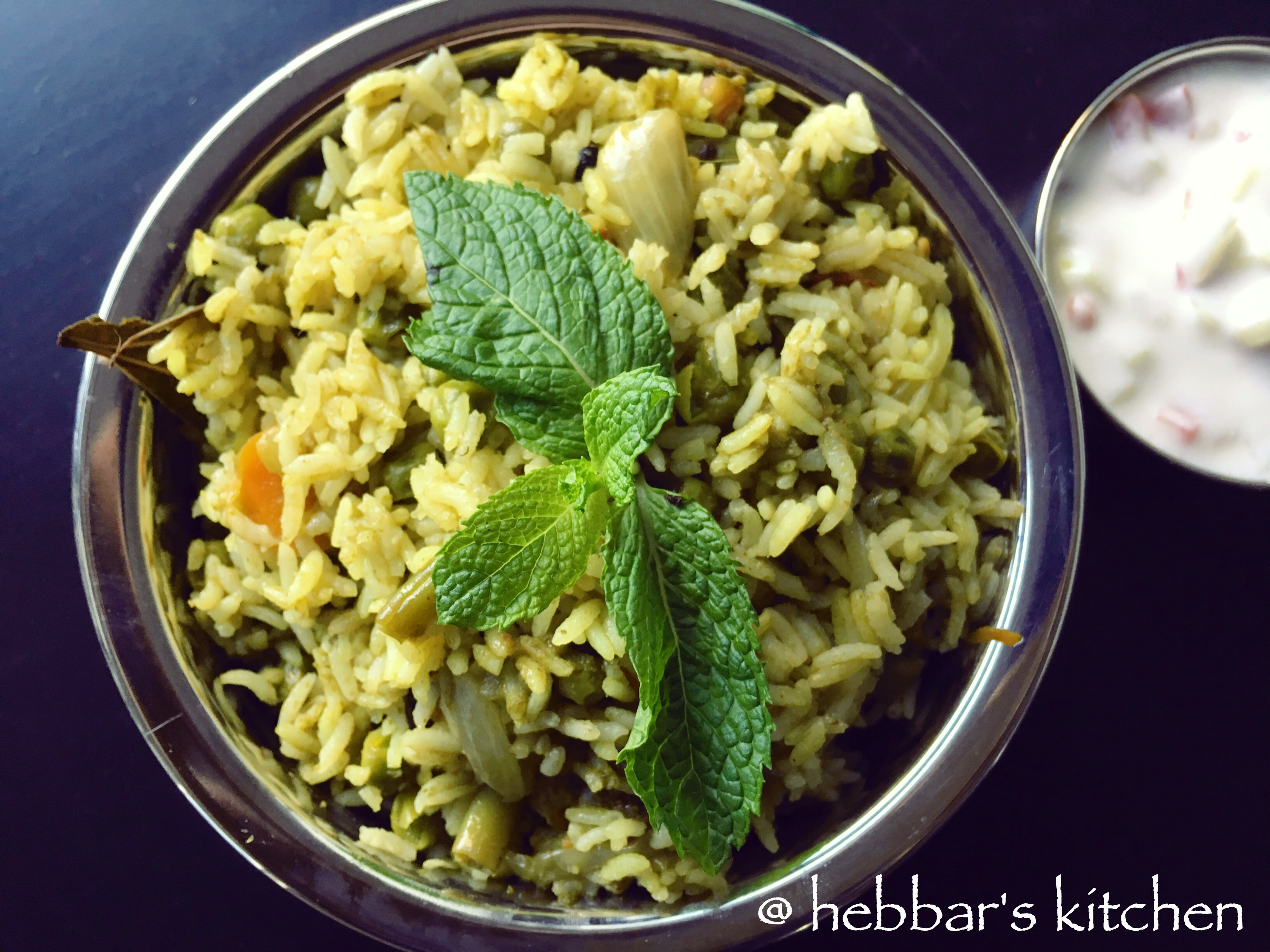 pudina pulao recipe| mint pulao recipe | mint rice recipe