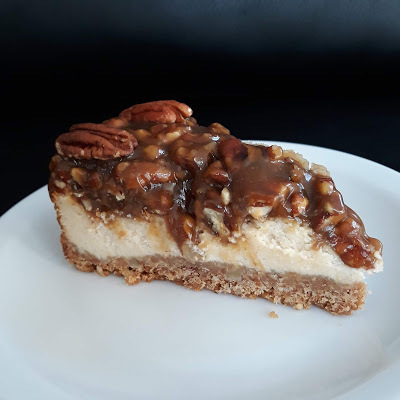 Pecan pie cheesecake.
