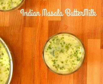 Indian Masala ButterMilk Recipe | Summer Recipes | Majjiege