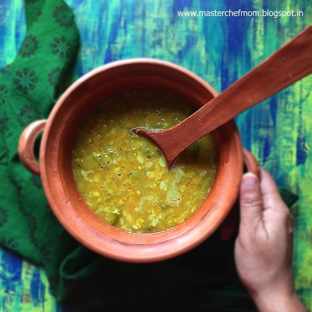 Peerkangai Masiyal | Ridge Gourd Lentil Mash Curry from Tamil Nadu | Gluten Free and Vegan Recipe