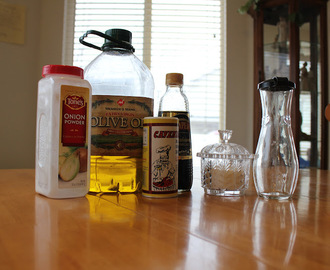 Balsamic Vinaigrette Salad Dressing (My own recipe)