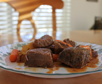 Roast Beef Stew (Corck Pot)