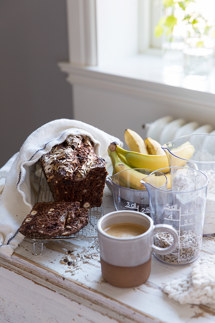 Chocolate Banana Bread with Chia