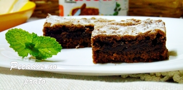 brownie de nutella super fácil