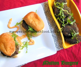 Spicy Mutton Kabab Burger