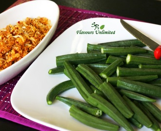 Maharashtrian Style Stuffed Okra | Ladies Finger