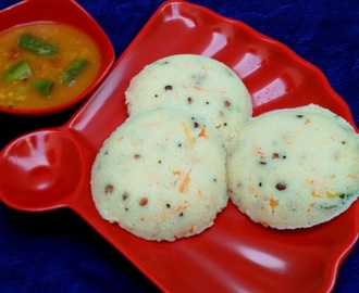 Refreshing Rava Idli
