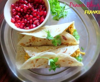 Paneer Bhurji Frankie | How to make Paneer Bhurji for Frankie