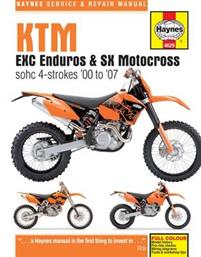 Ktm Exc Enduro & Sx Motocross, '00-'07 Haynes Repair Manual