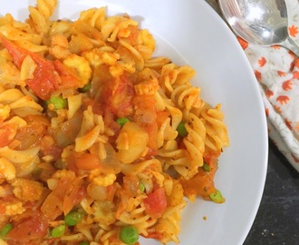 Veg Fusili Pasta in Tomato Sauce | Easy Pasta recipes | Kids recipes