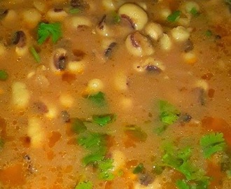 Lobia Masala Recipe, Black Eyed Beans Curry Recipe
