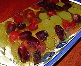 A Grape Terrine with Moscato Wine Recipe