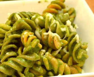 Spinach Pasta Recipe | Kids Pasta Recipes | Kids Lunch Box Ideas
