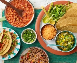 Make Your Own Tacos Bar