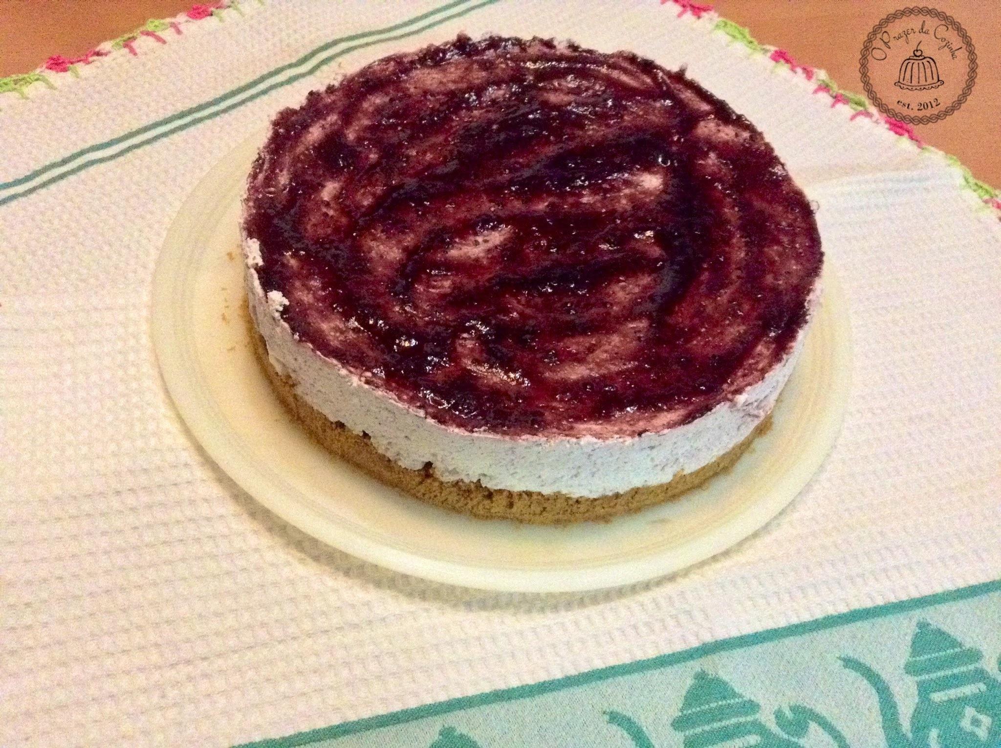 Cheesecake de frutos vermelhos