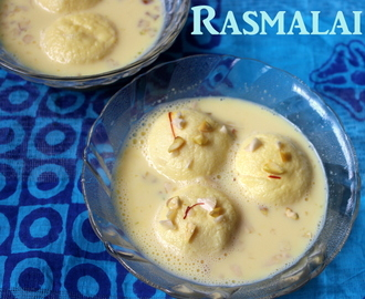 Rasmalai recipe – how to make rasmalai recipe – Instant bengali rasmalai recipe